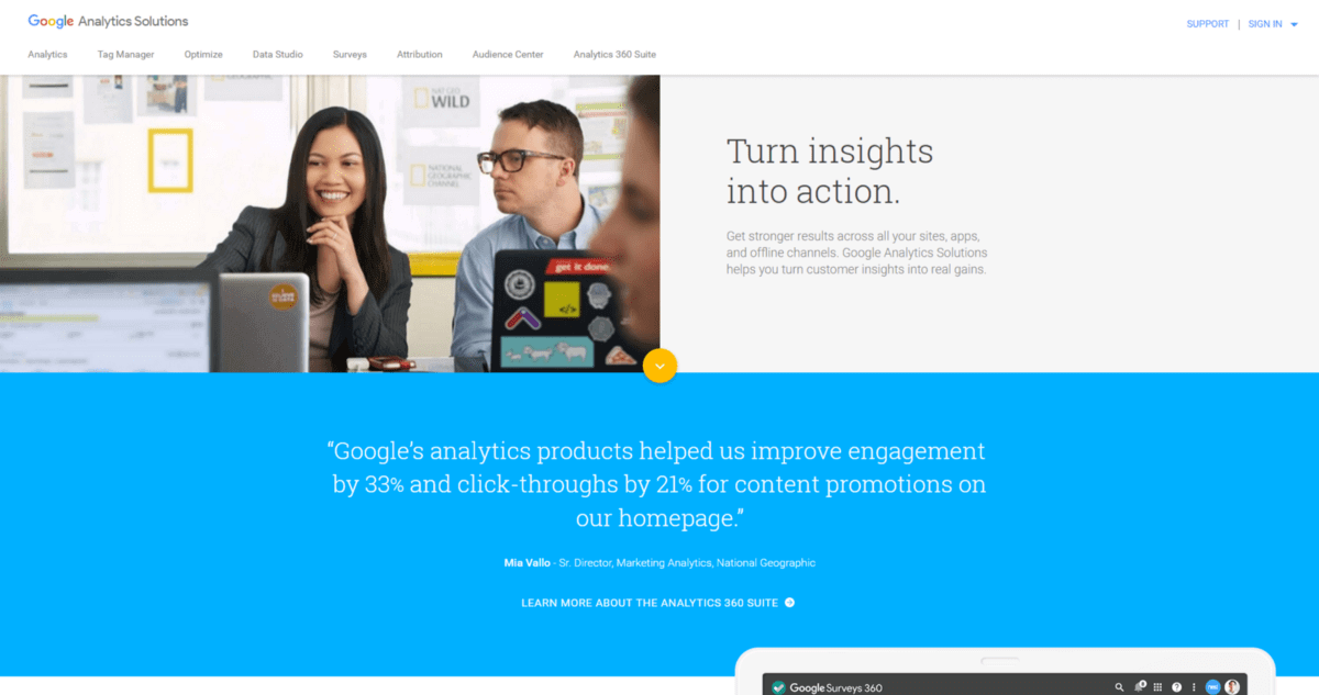 Digital Marketing Google Analytics