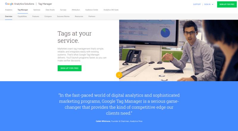 Digital Marketing Google tag manager