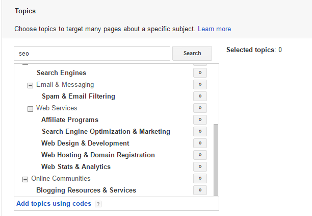 Digital Marketing Target SEO