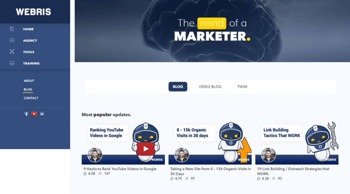 Digital Marketing Webris