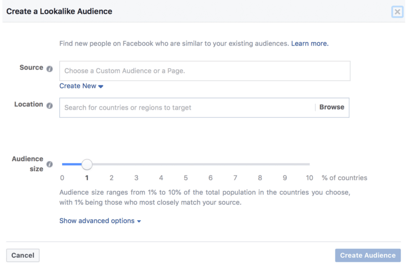 Dont neglect lookalike audience