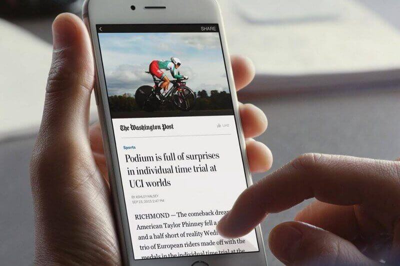 Facebook Instant Article Post