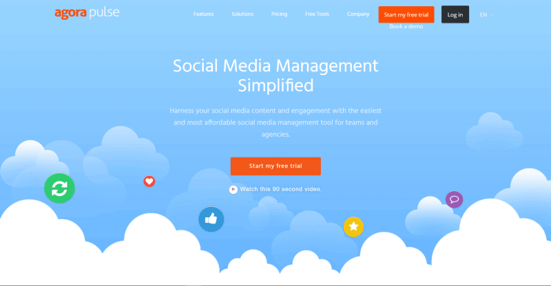 Social Media Agora Pulse