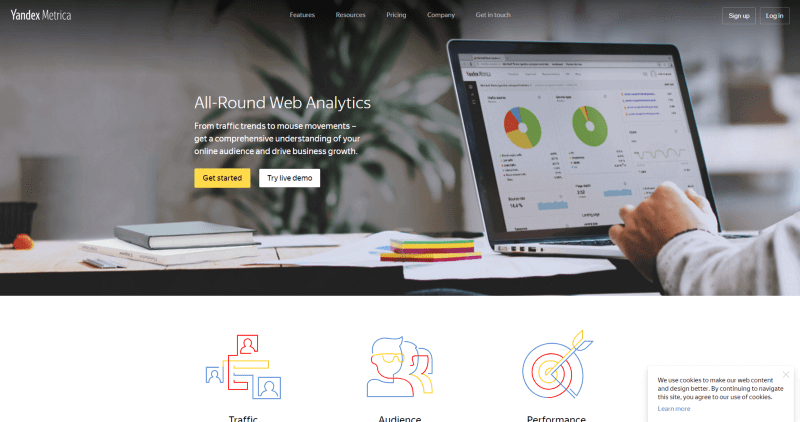 Yandex-metrics