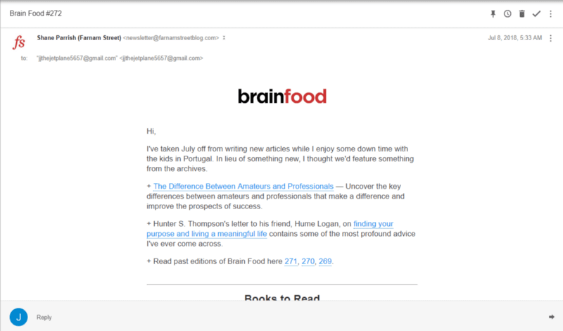 brain food case study