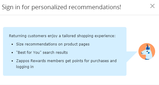 Know your stuff personalization
