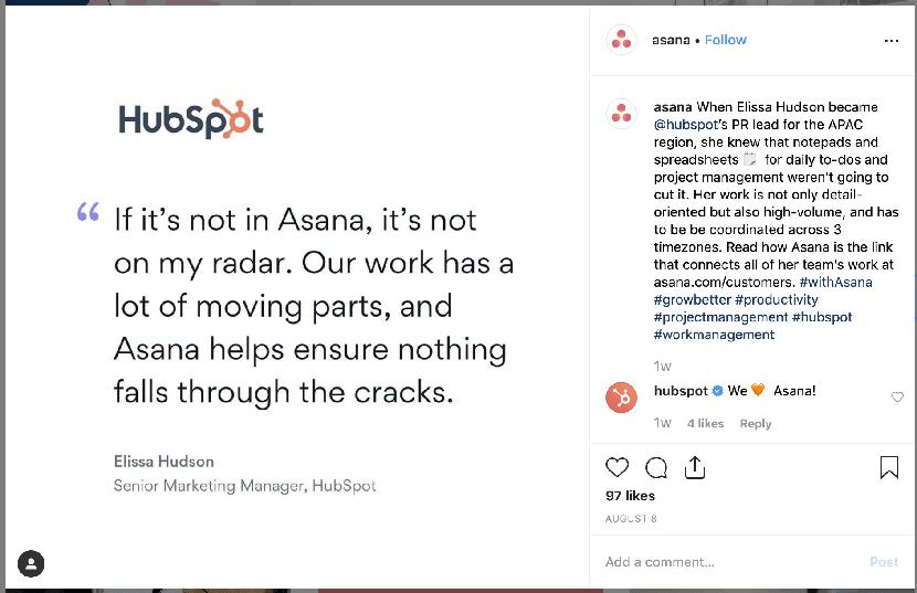 Social media for SaaS: How Asana Leverage Social Media