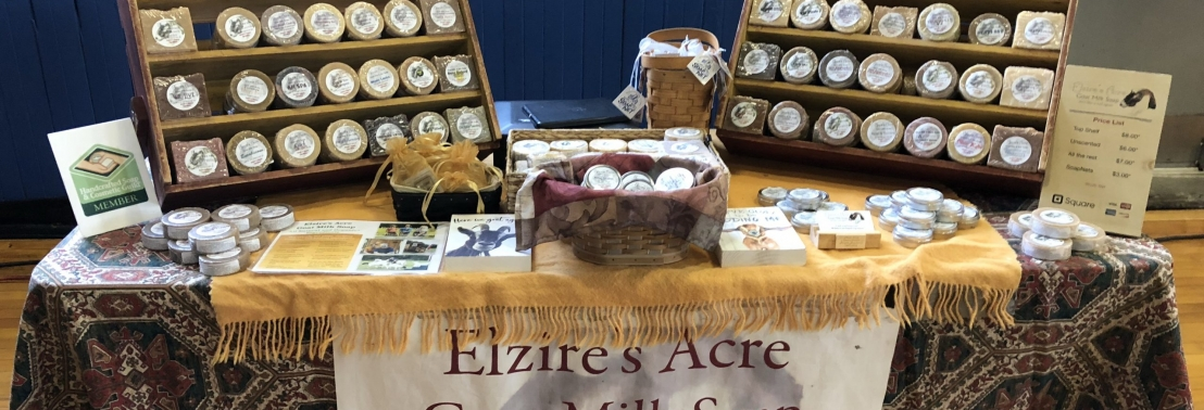 Elzire's Acre at Farmers Markets and Events