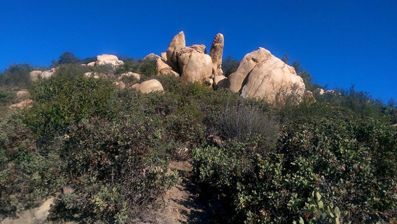 Iron Mountain rock formations