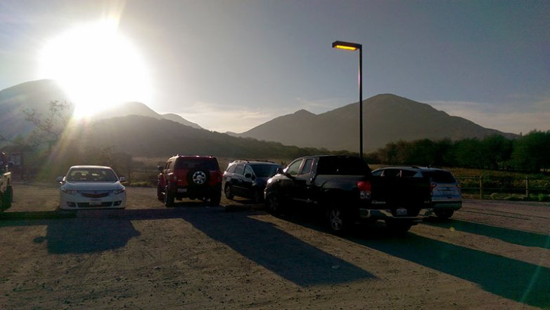 Iron Mountain Parking Lot