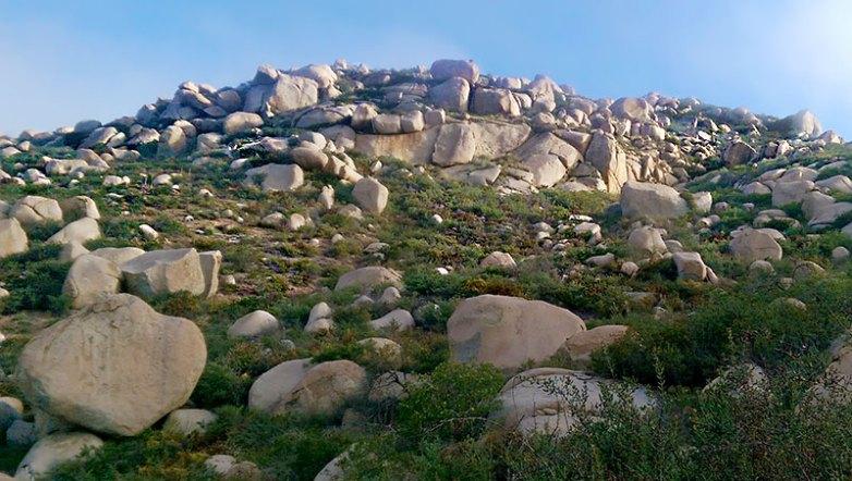 Mt. Woodson Trail Rock Formation
