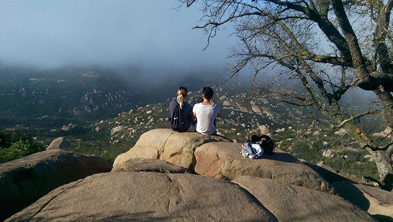 Mt. Woodson Trail Lookout