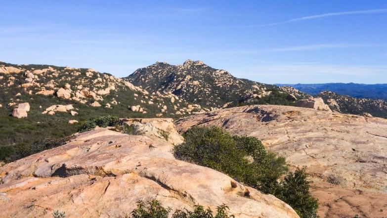 Hiking Lawson Peak - Pancake Rock