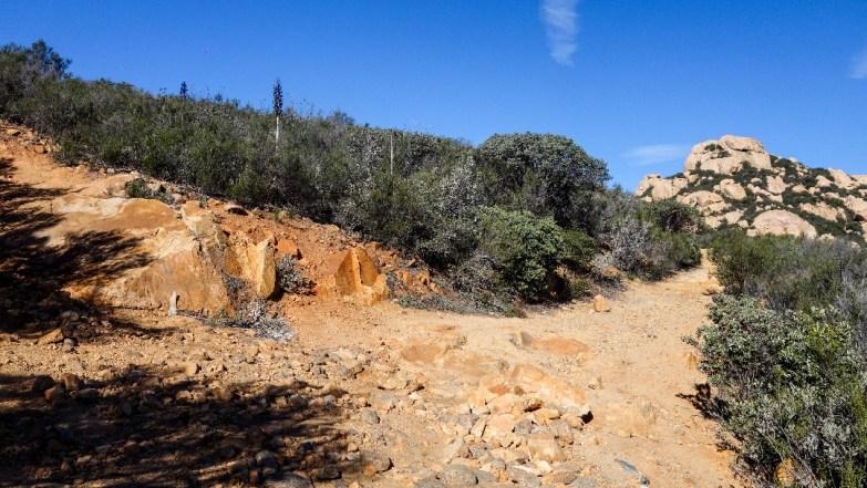 Hike Lawson Peak - wash detour