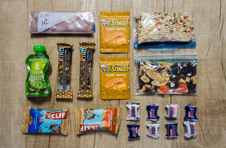 Ultralight Backpacking Meal Plan for the John Muir Trail