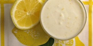 lemon - yogurt