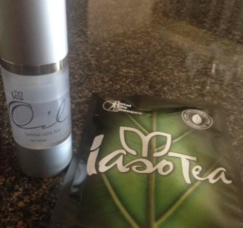 oil and tea combo