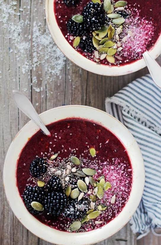 Try this delicious, nutritious smoothie bowl!