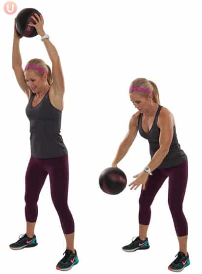 Medicine-Ball-Slams-Exercise-Core-Workout