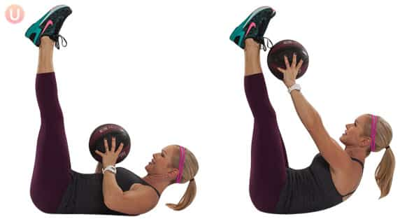 Medicine-Ball-Toe-Touches-Exercise-Core-Workout