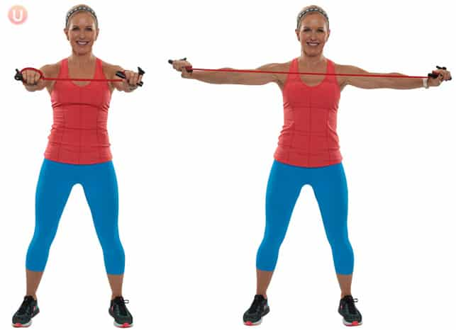 Learn what resistance band exercises are the best for a total body workout.