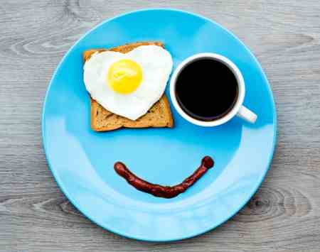 Lose belly fat by eating breakfast and not skipping meals.