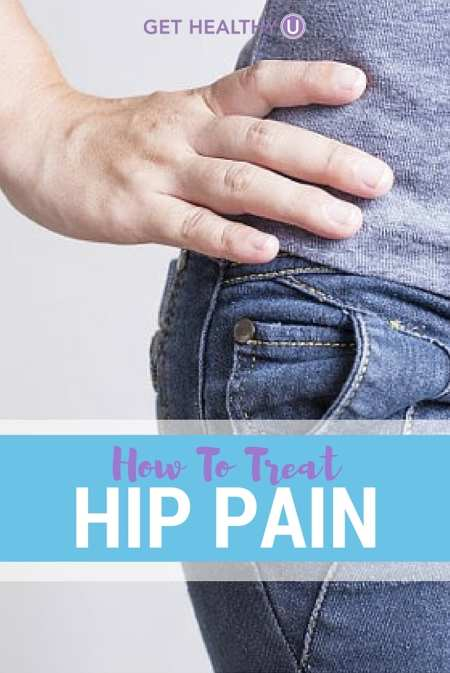 Treat hip pain at home with these helpful tips.