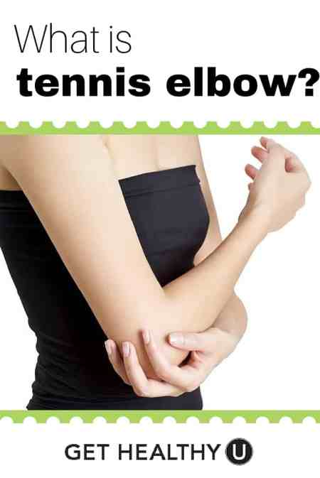 Learn what tennis elbow is and how to treat it with this helpful guide.