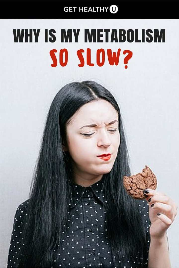 A slow metabolism can be caused by many things; learn what's slowing yours down here.
