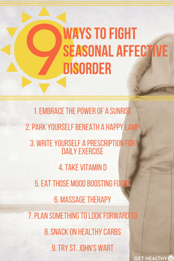 Check out these 9 tips for beating seasonal affective disorder this winter!