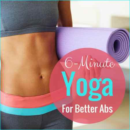 Strengthen your core with this 6-minute ab routine.