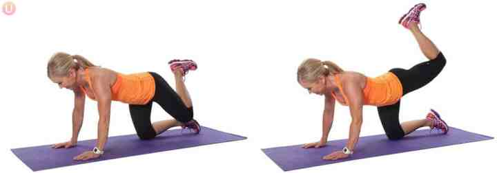 Try this move if you are overweight and want to get in shape.