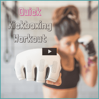 Try this quick kickboxing workout when you need to blow off some steam.