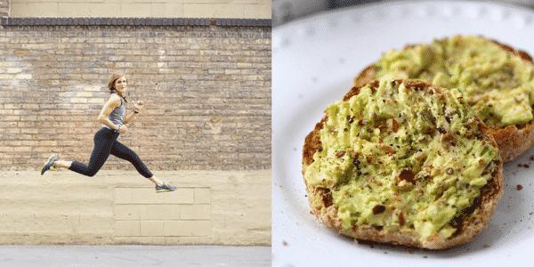 Avocado toast and lindsay