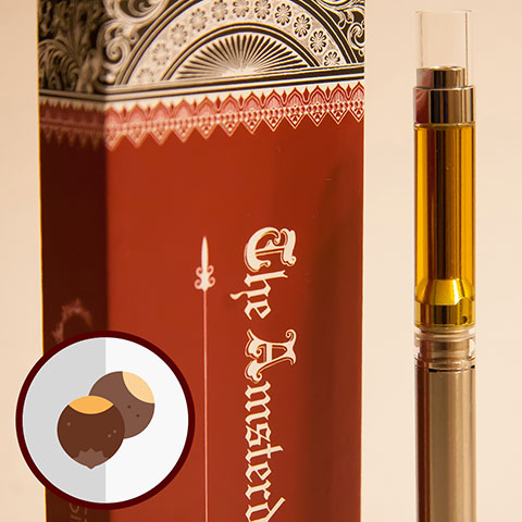 Cartridge - Amsterdam Italian Hazelnut 2 GRAMS