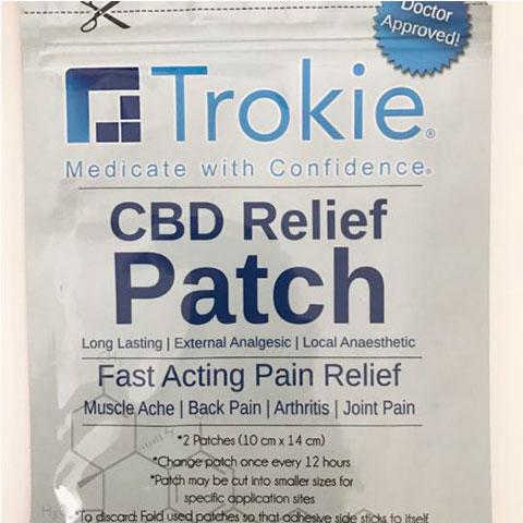 CBD Relief Patch - Trokie