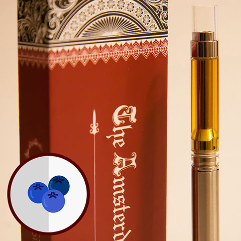 Cartridge - Amsterdam Blueberry King XIII 2 GRAMS
