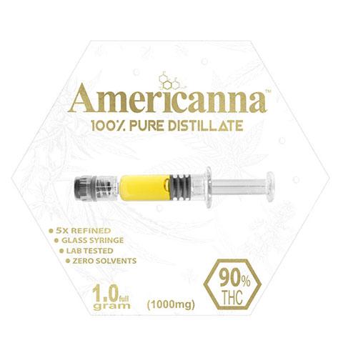 Distillate - Americanna Blue Razz One Gram