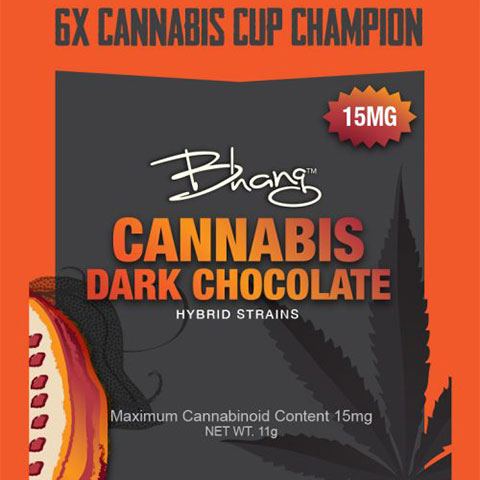 Chocolate - Dark Chocolate Single Bhang 15mg