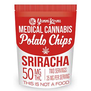 Chips - Sriracha 50mg Yummi Karma