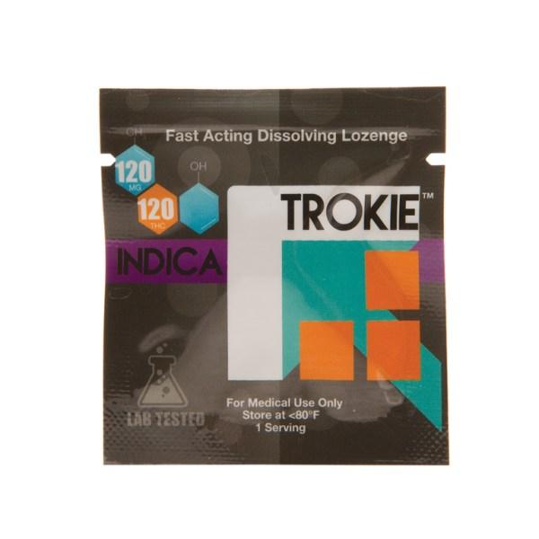 Throat Lozenge - Trokie 120mg THC Indica