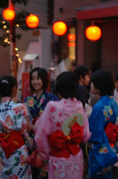 Girls in Yukata