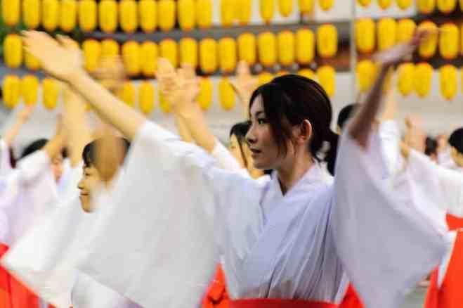Manto-mitama matsuri at Hiroshima Gokoku-jinja Shrine