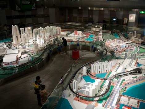 Model City at Hiroshima City Transportation Museum