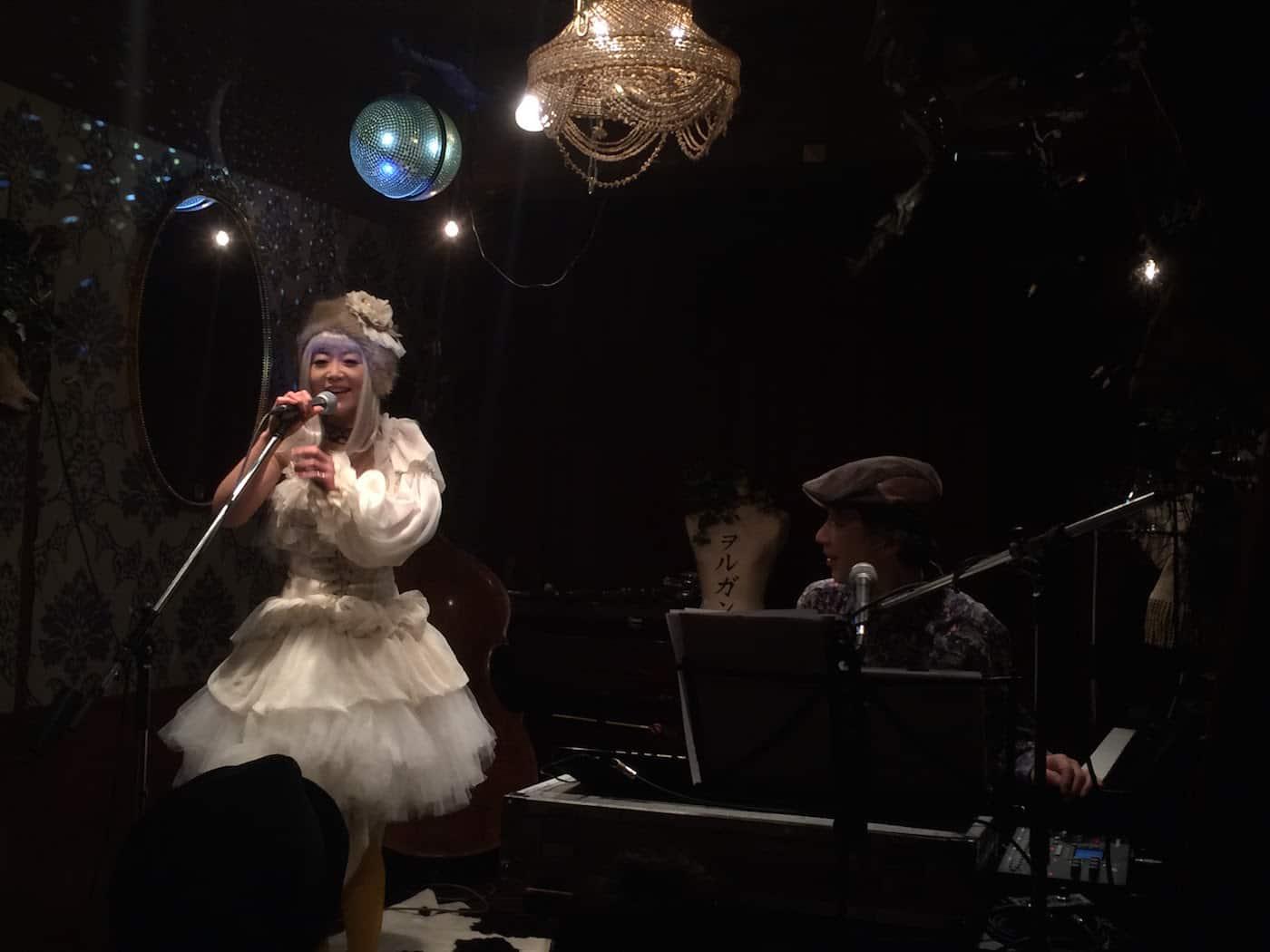 Goto Izumi performing at Organza in Hiroshima, Japan
