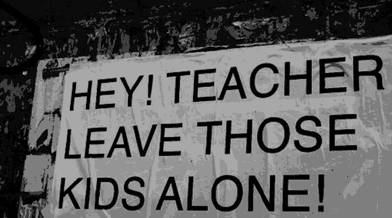 hey teacher leave those kids alone