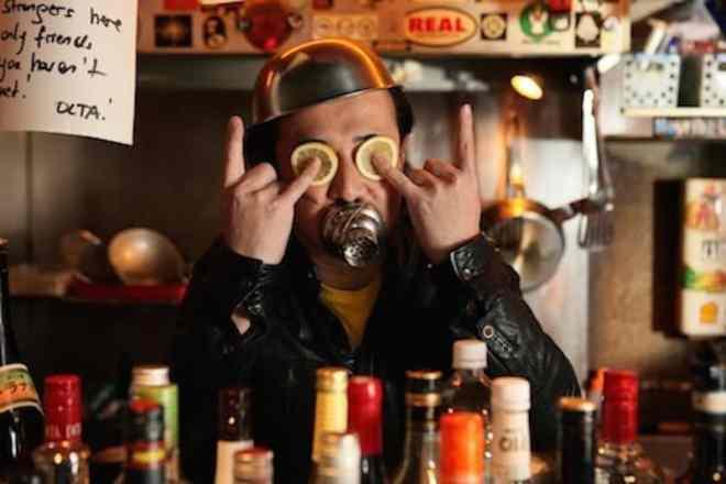 BOM owner of rock bar koba in Hiroshima Japan does Hiroshima Star Wars