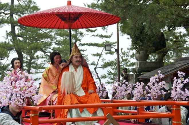 Kiyomori-Matsuri The main man