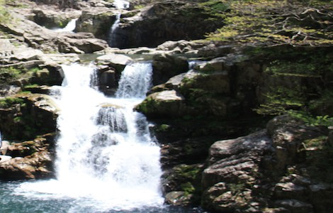 Sandankyo Waterfall