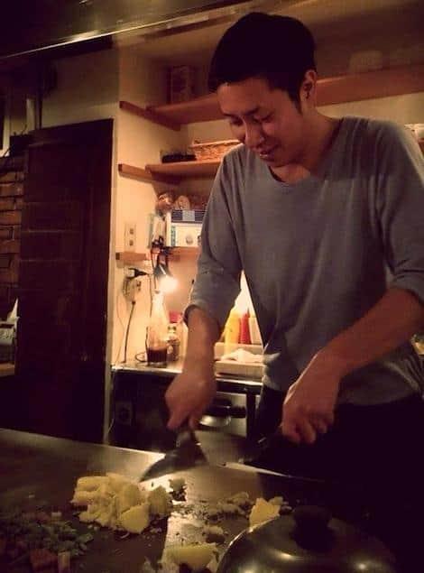kotaro at the grill at rojiura teppan kotaro